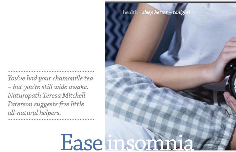 ease-insomnia | Australian Traditional Medicine Society